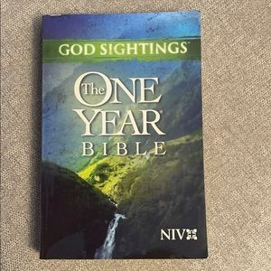 Brand new God Sightings The One Year Bible